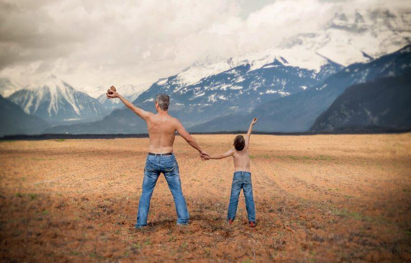 Питър Пан и сина му